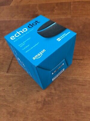 NEW Amazon Echo Dot 3rd Generation Smart Speaker w/ Alexa Voice - Charcoal Grey