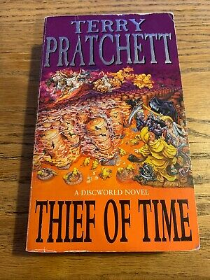 Thief of time by Pratchett, Terry Hardback Book The Cheap Fast Free Post