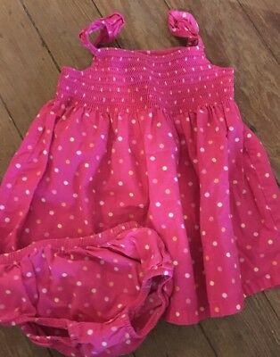Gymboree NWT 3 Pink Ivory BNB POLKA DOT BUNNY LS DRESS BODYSUIT TOP 6 9 12 18 M