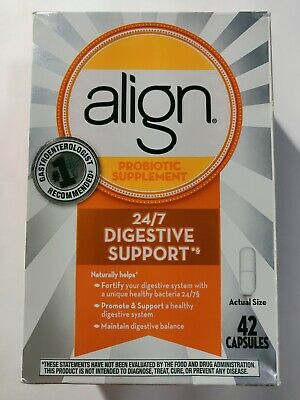Align Probiotic Supplement 24/7 Digestive Support 42 Capsules