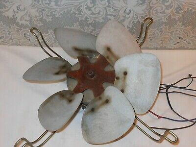 Vintage Westinghouse Industrial Fan Wide Paddle Blades Steampunk Restore