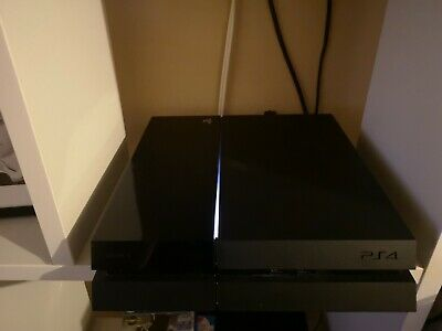 Sony PS4 PlayStation 4 500GB Jet Black Console - PSN Banned CUH-1003A