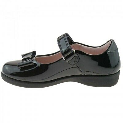 Lelli Kelly LK8226 (DB01) Perrie Black Patent Dolly School Shoes E Fitting.