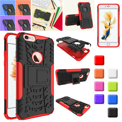 Hybrid TPU+PC Heavy Duty Shockproof Case Cover For iPhone 6 6S 7 Plus XS Max XR