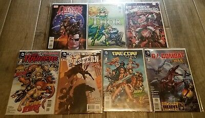1,000 COMIC BOOK LOT all Marvel and DC various years