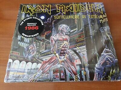 IRON MAIDEN SOMEWHERE IN TIME (Remastered) Digipack CD (29th MAR. 2019)-JUDAS