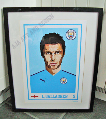 Liam Gallagher/Oasis/Manchester City A3 size art print/poster
