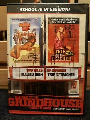 MALIBU HIGH (1979) TRIP WITH THE TEACHER (1975) DVD Grindhouse RARE release OOP