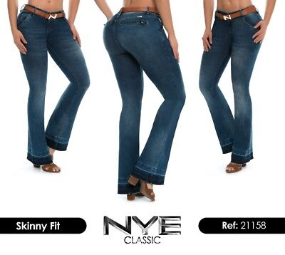 Nye Jeans Colombianos Authentic Colombian Push Up Jeans Levanta Cola Butt Lift