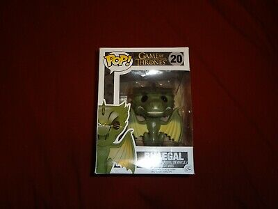 Funko Pop Rhaegal Dragon Game of Thrones #20 Vaulted NOT mint Please still look
