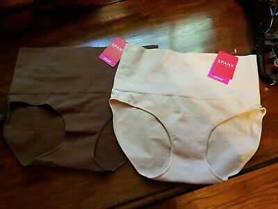 Spanx Everyday Shaping Panties Pair size L / soft beige & naked / NWT