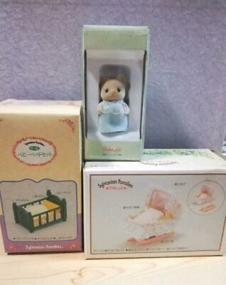 Sylvanian Families Calico Critters Early Cat Baby Set Bulk Sale Epoch