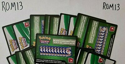 48 SUN AND MOON: ULTRA PRISM POKEMON TCG ONLINE CARDS CODES (Emailed)~ ROM13