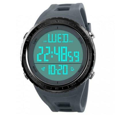 Men Digital Watch,COOLANS Gents Boys Military Fashion Sports LED Back Light 50M