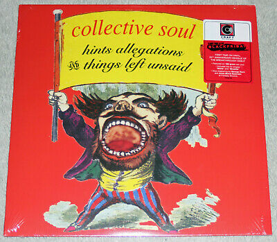 Collective Soul Hints Allegations Things Left Unsaid Red Vinyl RSD 2018 xxx/3000