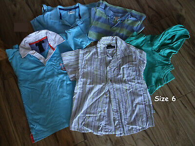 5 x Size 6 Pumpkin Patch Shirts - Excellent Used Condition!