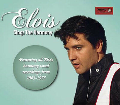ELVIS SINGS THE HARMONY - Deluxe 6 Panel DigiPak CD - New & Sealed