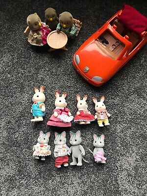 Bulk lot - Sylvanian Families - Great Used Condition!