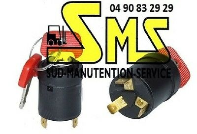 Jungheinrich forklift ignition switch with 3 keys included P//N 28526100