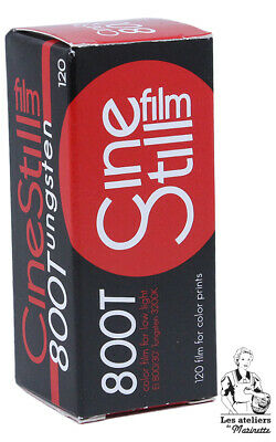 FRESH: Cinestill Film 800 Tungsten- 120 - Couleur Pellicule Argentique