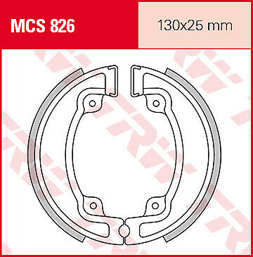 Motorroller TRW Lucas Bremsbacken MCS826 brake shoes Kymco People