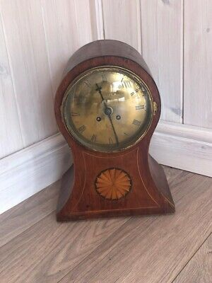 Attractive antique mantle clock C.Turner On Brass Face
