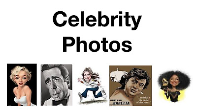 YOUR CHOICE  ~  Celebrity Photos, flyers or Lobby Card copies  -  Only $5 each