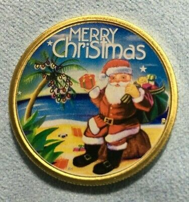 2015 Proof Like $1 Coin - Merry Christmas Santa - Limited Release