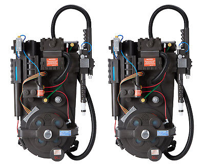 Ghostbusters Proton Pack 2-PACK Deluxe Replica Spirit Halloween Prop GLOBAL SHIP