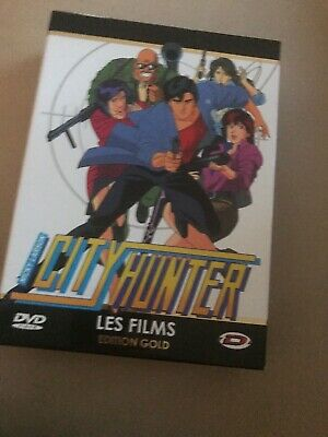 "COFFRET 3 DVD ""CITY HUNTER"" (Nicky Larson) EDITION GOLD 2 Films et 2 OAV NEUF"