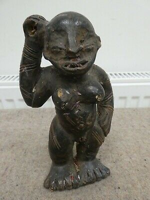 Antique/Antiquity African? Tribal Pottery/Terracotta? Figure Pre-Columbian? Girl