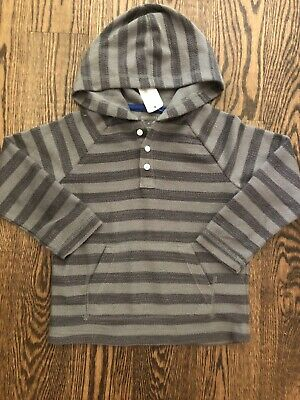 NWT GYMBOREE Retail Rising Stars Toddler Boy 3T Long Sleeve Pullover Hooded Top