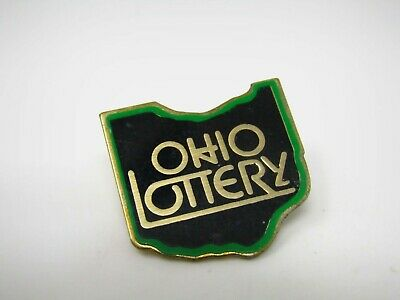 OHIO LOTTERY PIN Button Advertisment - $1 28 | PicClick