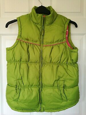 Next Girls Green/Pink Gillet/Body Warmer, Age 15-16,warm, padded, fleece lined