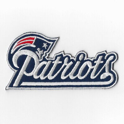 New England Patriots (c) Iron on Patch Embroidered Football Patches