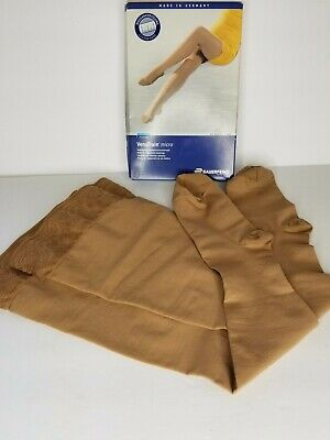Bauerfeind VenoTrain Micro Compression Stockings Ccl2 Long Nude NEW in Open Box