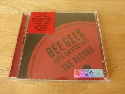 Bee Gees – Their Greatest Hits: The Record - 2 CD Set ( You Win Again / Alone )