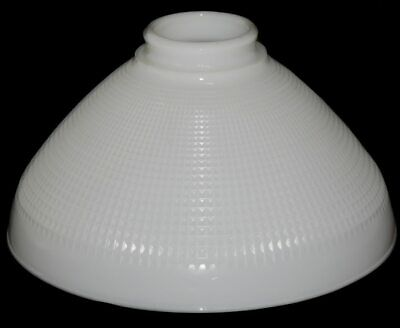 """Vintage 10"""" Milk Glass Lamp Shade Globe Torchiere Floor Lamp Replacement Shade"""