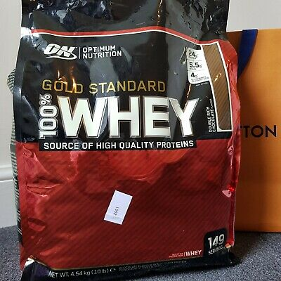 Optimum Nutrition Gold Standard 100 Whey Protein 4.54kg Double Rich Chocolate