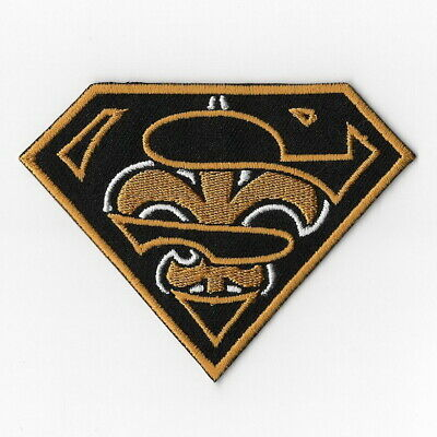 New Orleans Saints (c) Iron on Patch Embroidered Football Patches