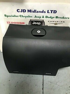 Chrysler Crossfire Black Glovebox Glove Box Front 2003-2007