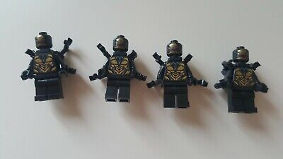 Legol Marvel Avengers Infinity War End Game Outrider X 4 Minifigures