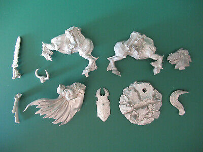 Games Workshop Citadel Warhammer Real of Chaos Archaon Lord Mounted Metal
