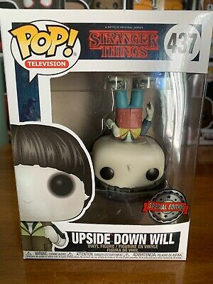 Stranger Things Upside Down Will Funko Pop! 437 Special Edition