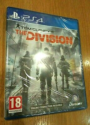 Tom Clancy's The Division Sony PlayStation 4 PS4 Game - Ubisoft (Sealed)