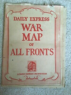 Daily Express War Map of All Fronts