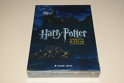 Harry Potter: The Complete 8-Film Collection (DVD, 2011 8-Disc Set ) Brand Newww
