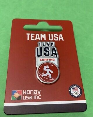 Tokyo Japan 2020 Summer Olympics New Release For Team Usa Surfing Pin