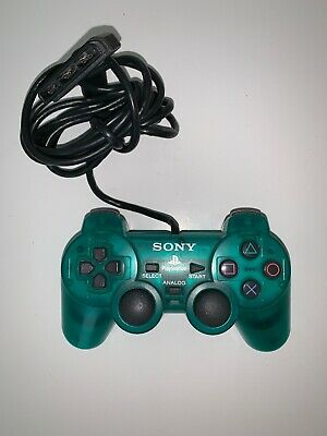 Original OEM Sony PlayStation 2 PS2 Controller Dualshock Clear Green