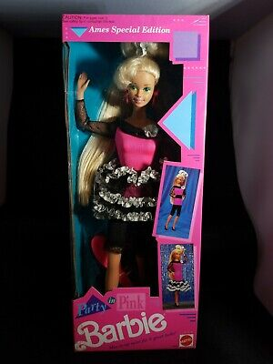 Party in Pink Barbie Doll AMES Special Edition #2909 New NRFB 1991 Mattel, Inc.